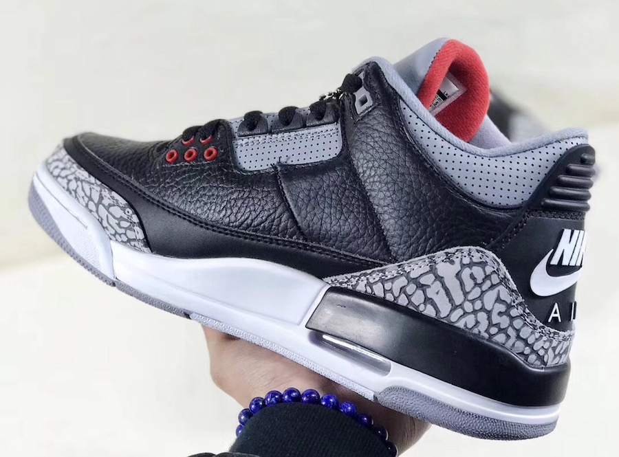 1061bae8677c64 A detailed look at the  Black Cement  Air Jordan 3 - HOUSE OF HEAT ...