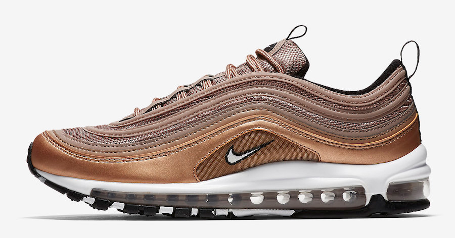 "The ""Metallic Bronze"" Air Max 97 hits retailers today"