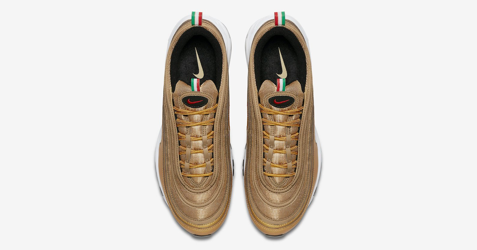 These Gold AM97's have a touch of Italian inspiration