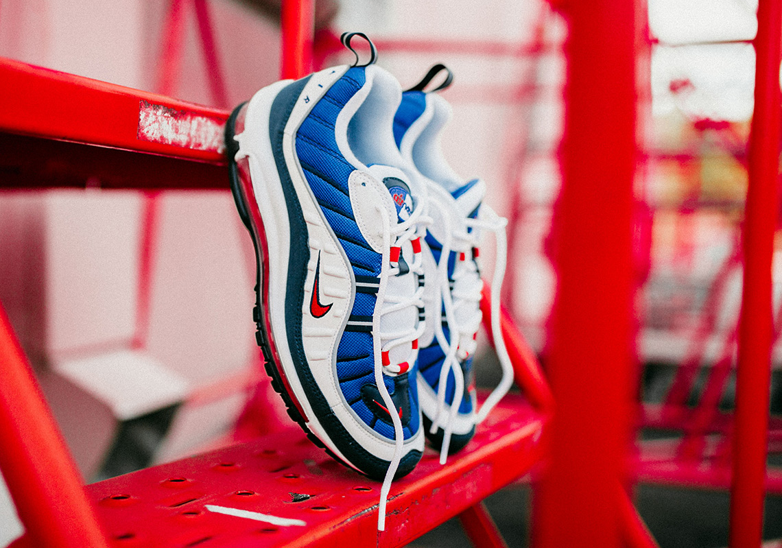 "The Nike brings back the ""Gundam"" for the Air Max 98 s 20th anniversary fbd198c21"