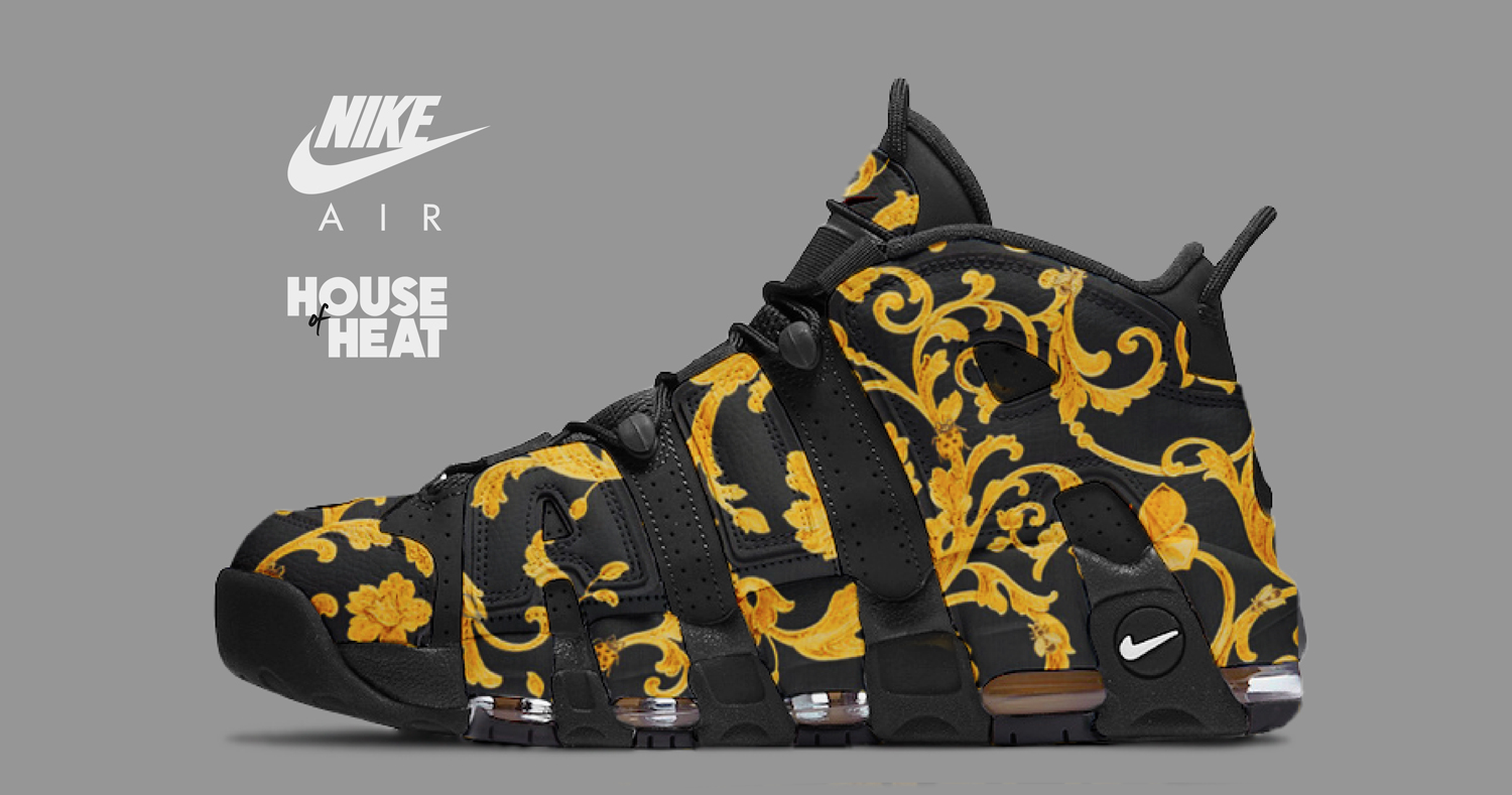 "The Concept Lab : Nike Air More Uptempo ""Versace"""