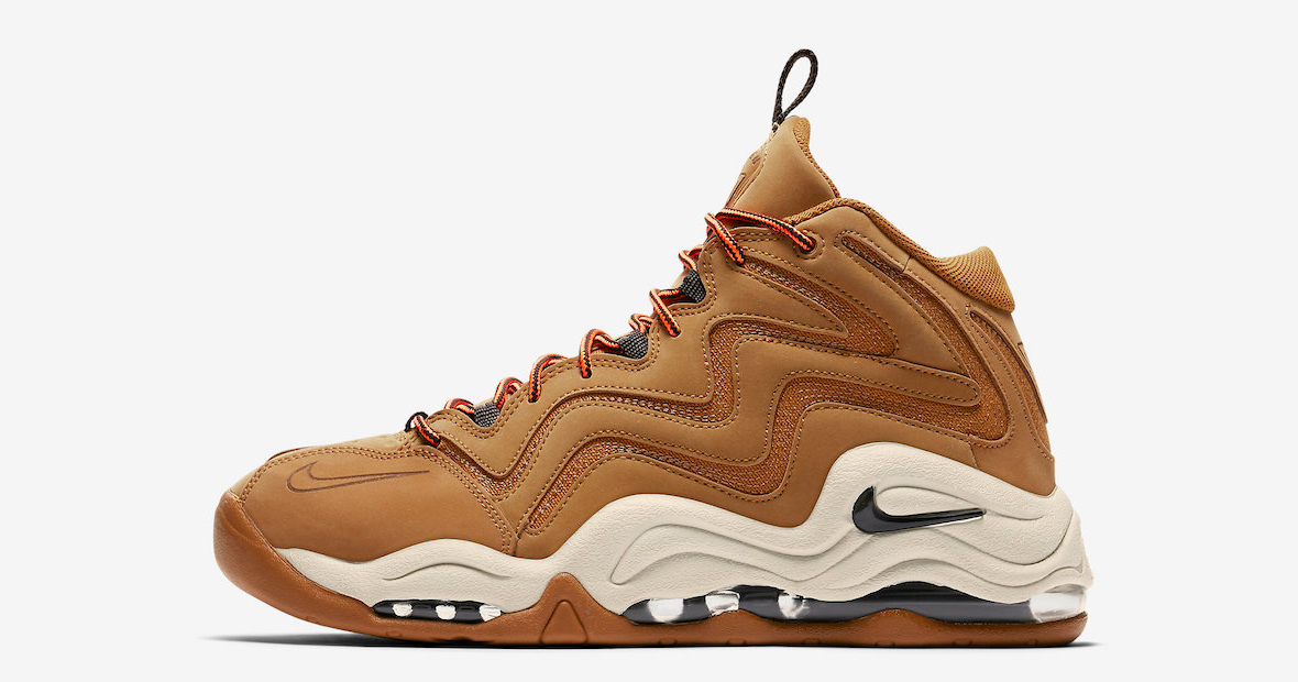 Wheat hits the Air Pippen 1