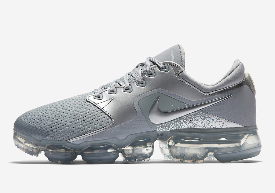release date 8248c cd8a5 Nike VaporMax CS 'Wolf Grey'. Color: Wolf Grey/Metallic Silver Style Code:  AH9045-006. Price: $155