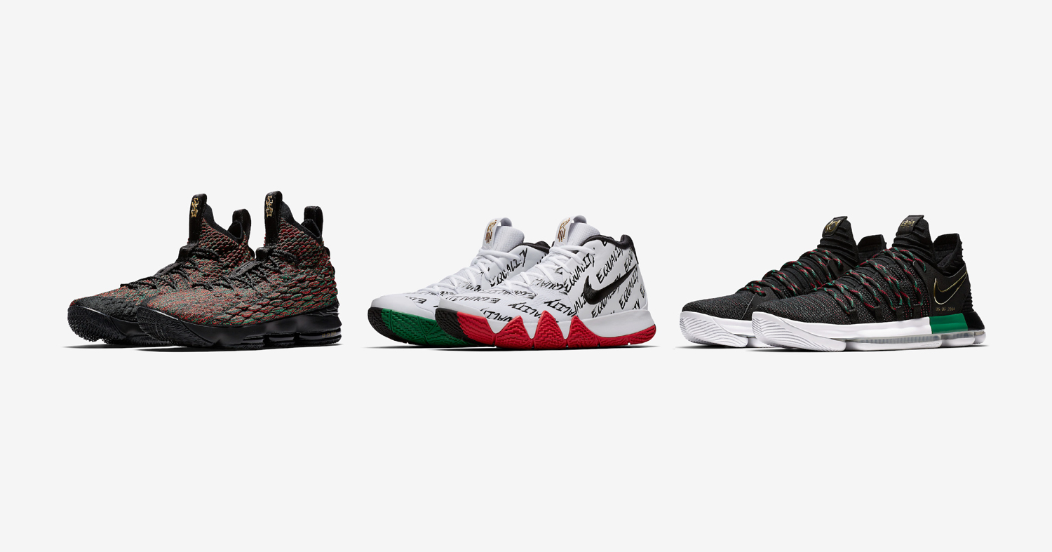 centinaio carta Uno strumento centrale che svolge un ruolo importante  Nike Basketball unveil their BHM collection - HOUSE OF HEAT | Sneaker News,  Release Dates and Features