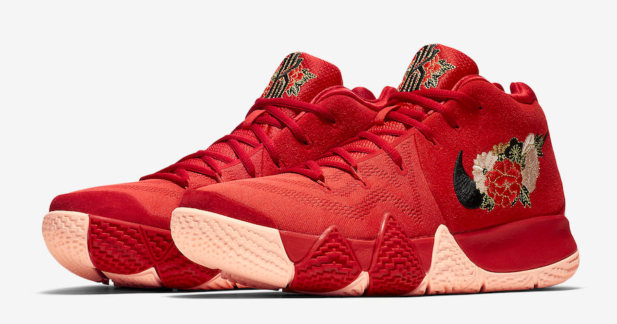 "Official images of the Kyrie 4 ""Chinese New Year"" are here"