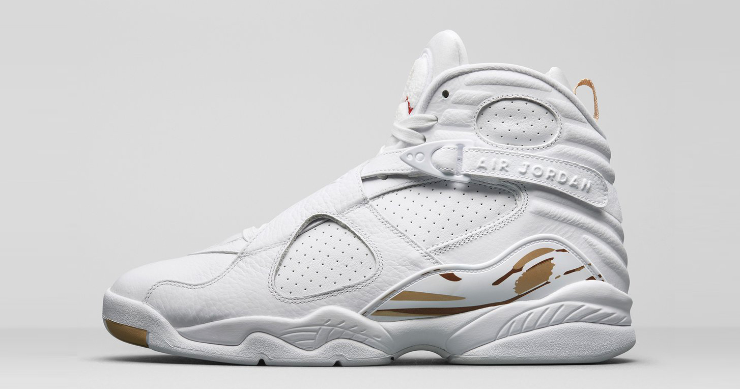 best service 3a58b 896d9 Official images of the White OVO Air Jordan 8 - HOUSE OF ...