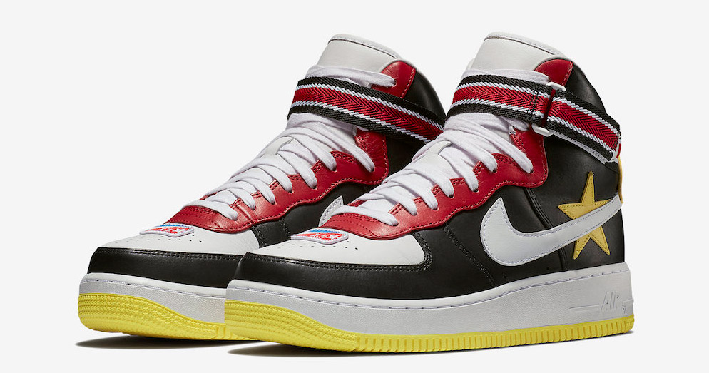 There's two more Riccardo Tisci x Nike Air Force 1's on the way