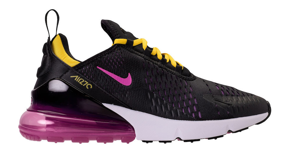 The next AM270 has serious Lakers vibes