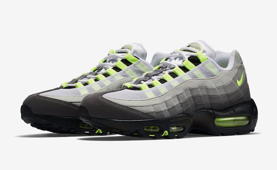 The Air Max 95 OG Neon is back again