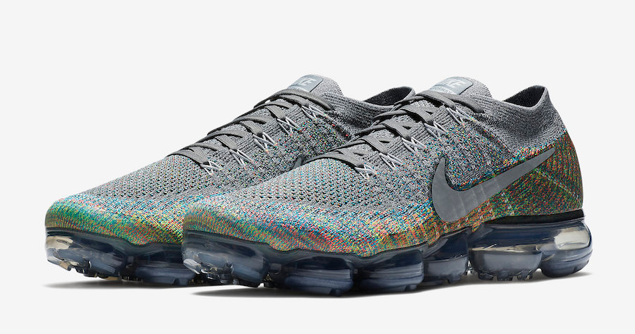 There's a new multi-colored VaporMax on the way