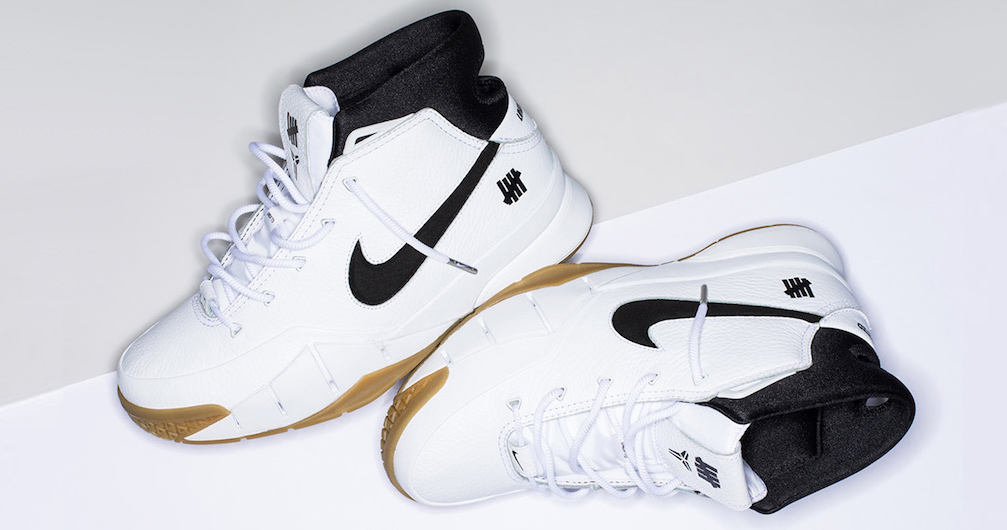 Here's how you can score the Undefeated x Nike Zoom Kobe 1