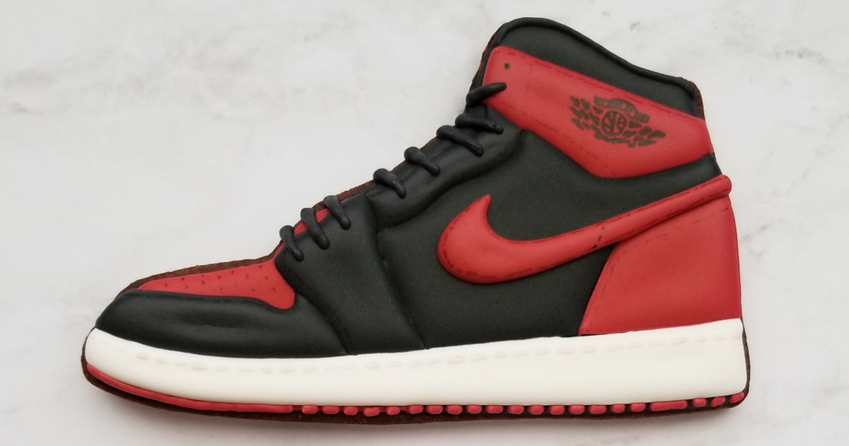 Feast your eyes on these Jordan-inspired cookies