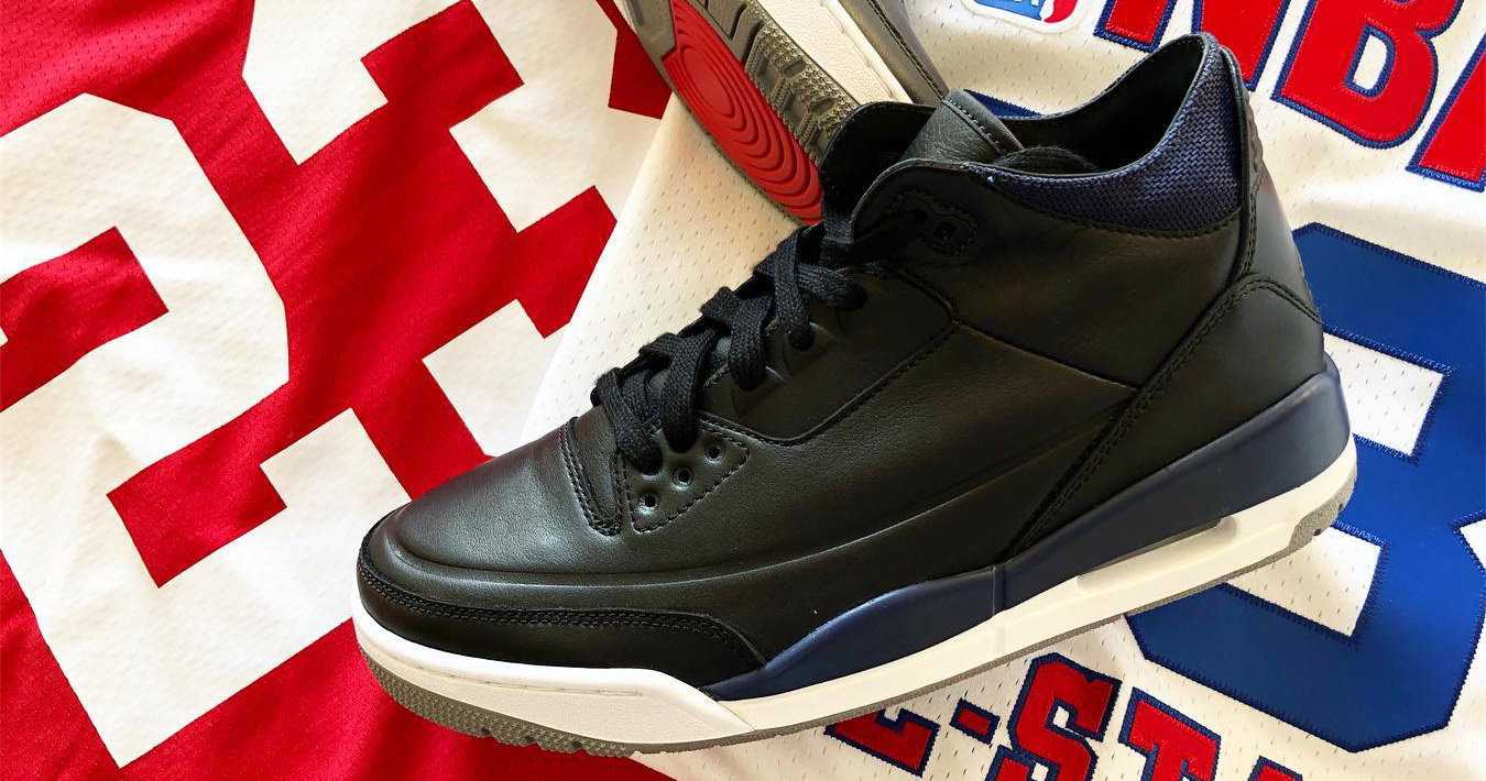 First Look // Air Jordan 3 Deconstucted
