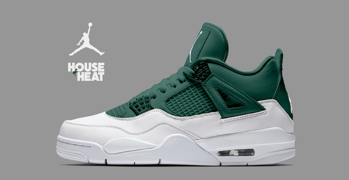 "timeless design b30a3 1aace The Concept Lab    Air Jordan 4 ""Deep Green"""