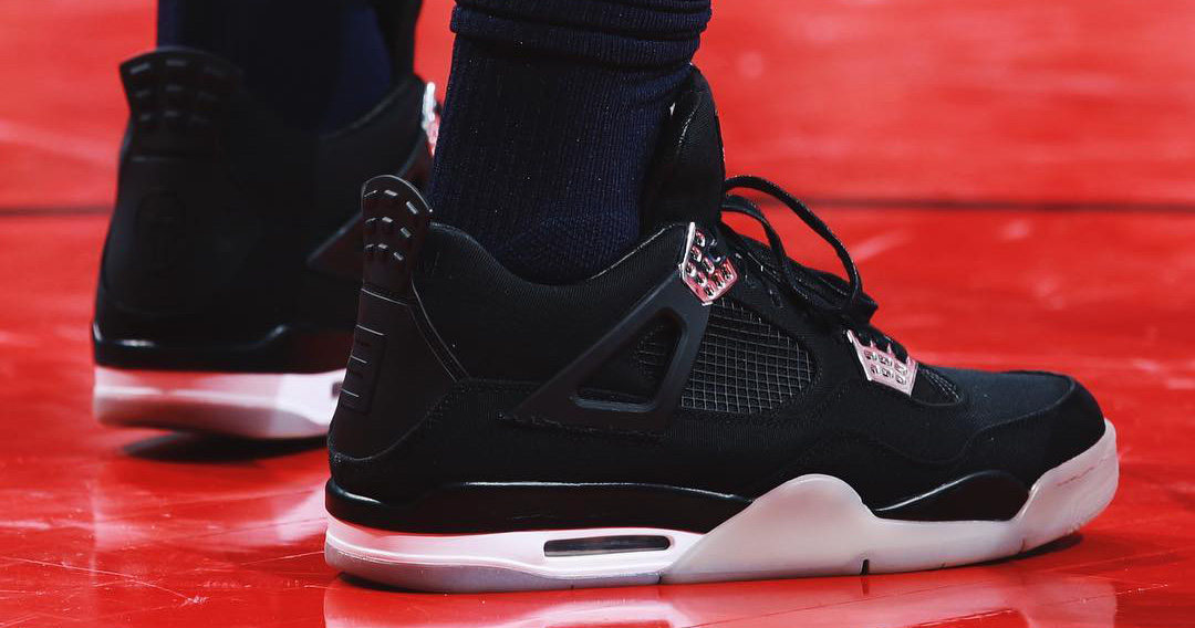 Jimmy Butler rocks $20k Air Jordans on court // #HardwoodHeat