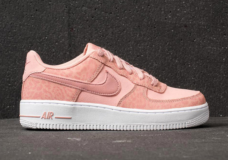 air force 1 nike leopardate