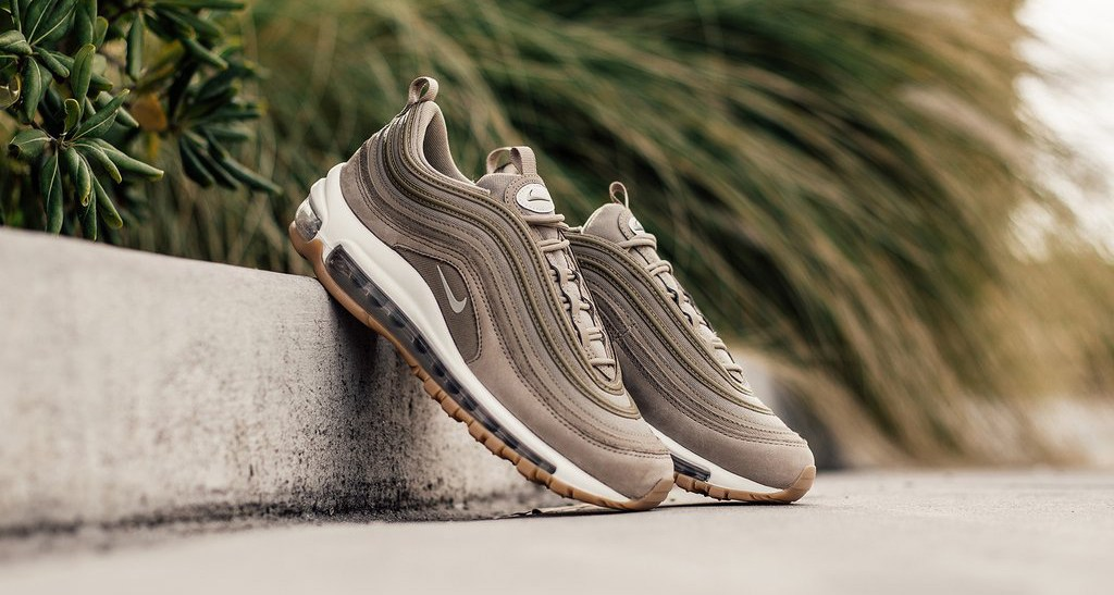 The Khaki suede AM97's arrive this week HOUSE OF HEAT
