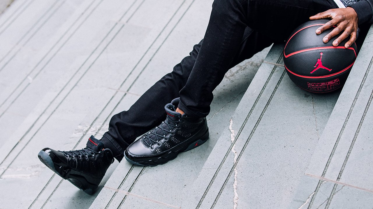 "The Air Jordan 9 ""Bred"" drops this weekend"