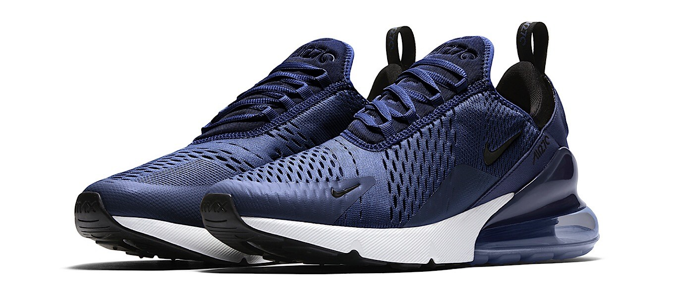 This Navy AM270 exclusive colorway is available now