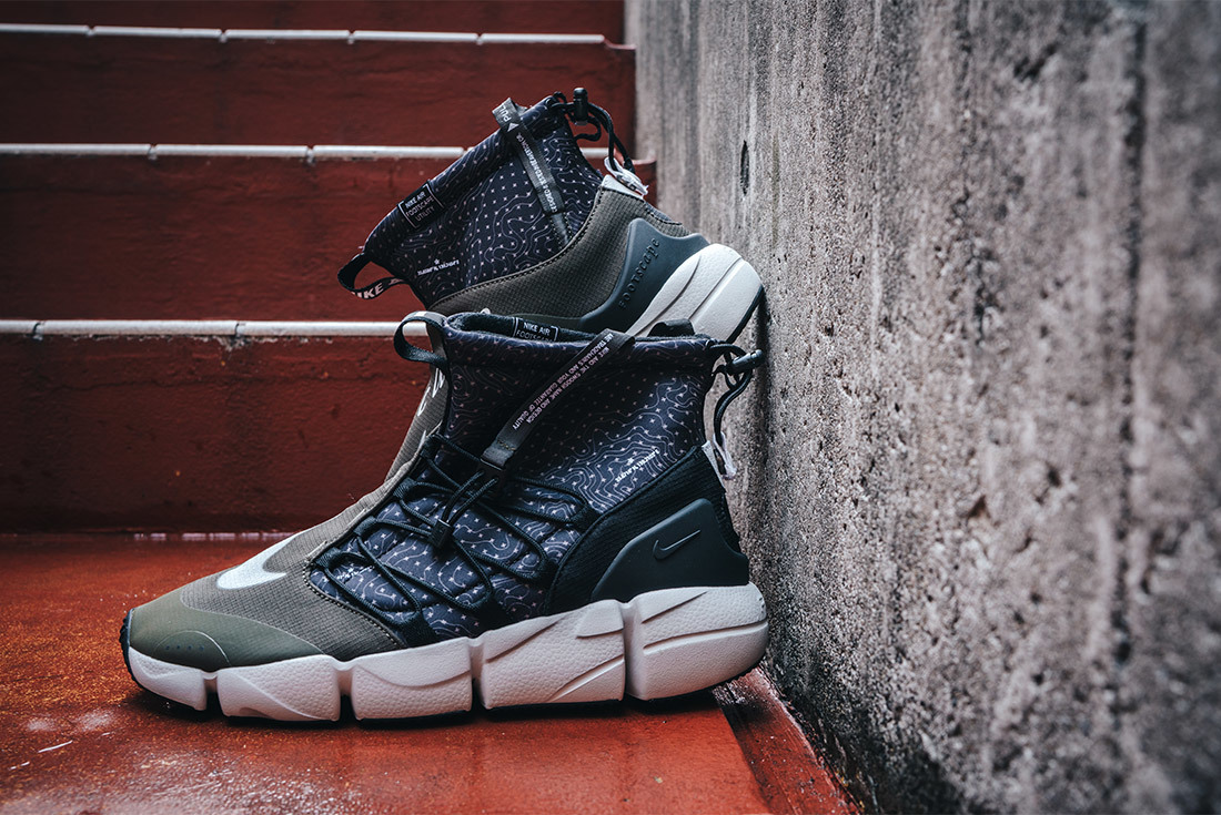 The Nike Footscape honors the city that embraced it