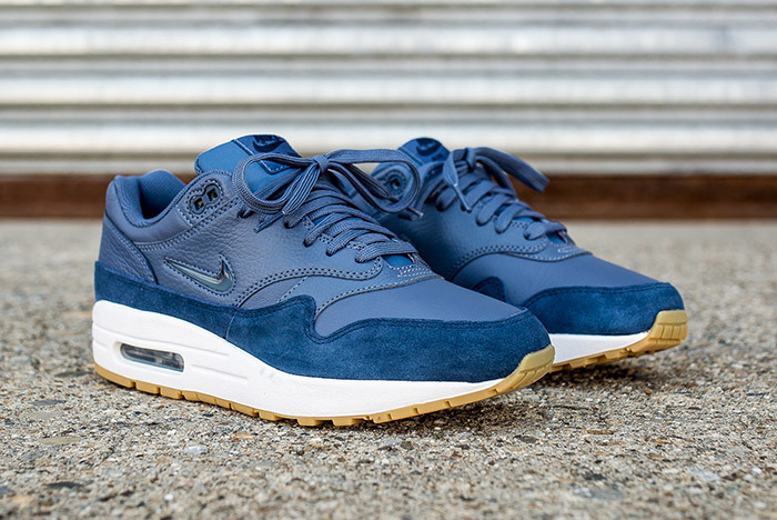 This Air Max 1 is swimming in suede