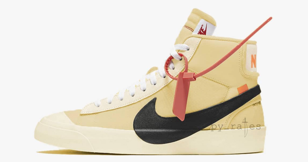 There's nothing Vanilla about the latest Off White x Nike Blazer