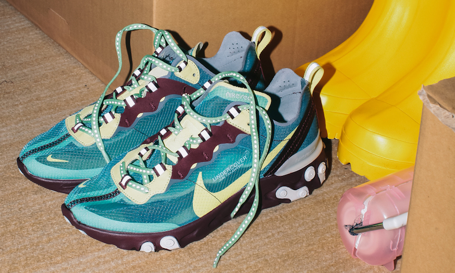 Undercover uncover their Nike React collaboration