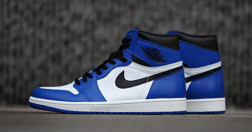 "Detailed look // Air Jordan 1 ""Game Royal"""