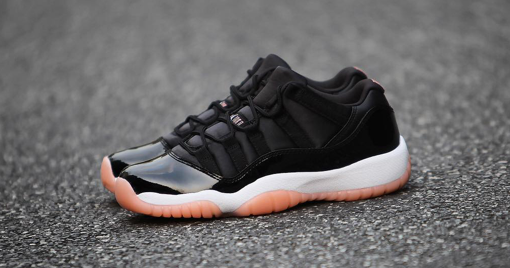 "Detailed look // Air Jordan 11 Low ""Bleached Coral"""