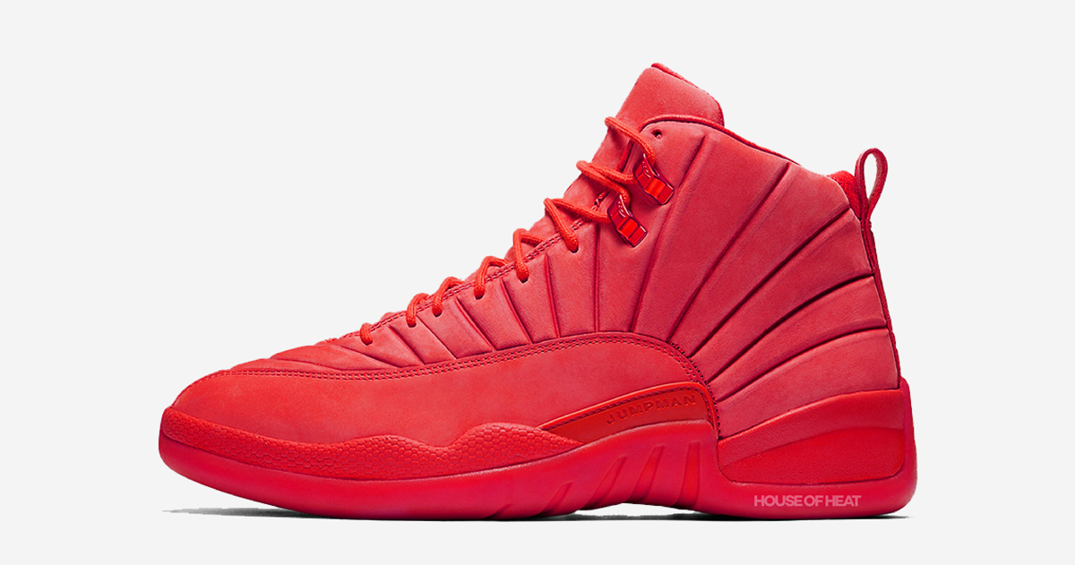 There's an all-red Air Jordan 12 on the way