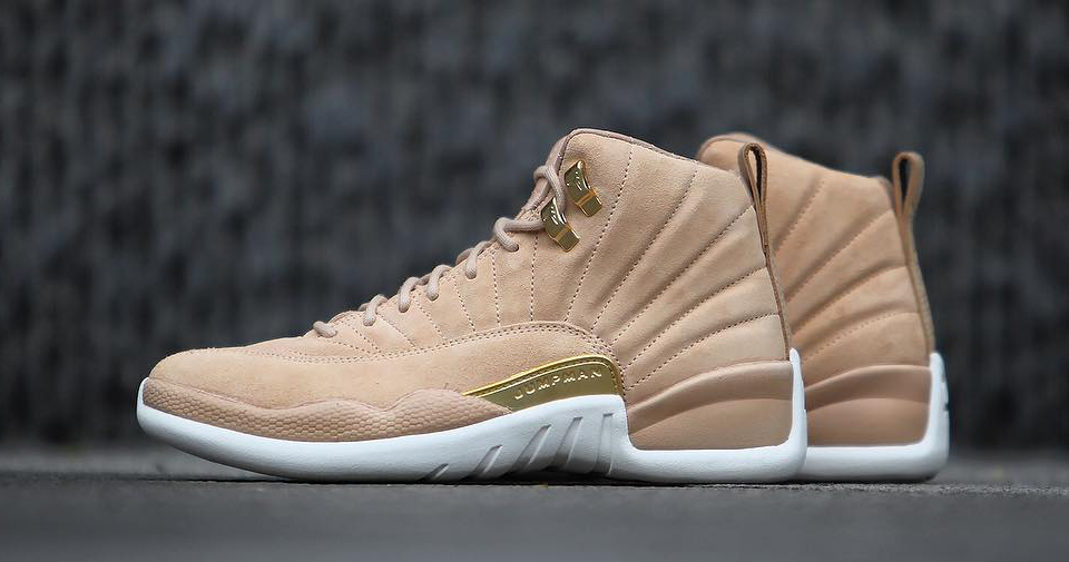 "Detailed look // Air Jordan 12 ""Vachetta Tan"""
