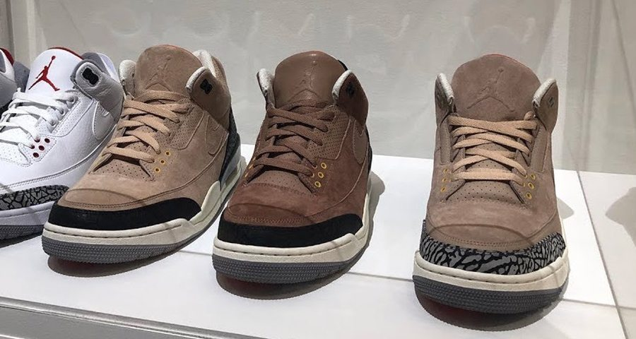 There's more JTH Jordan 3's on the way