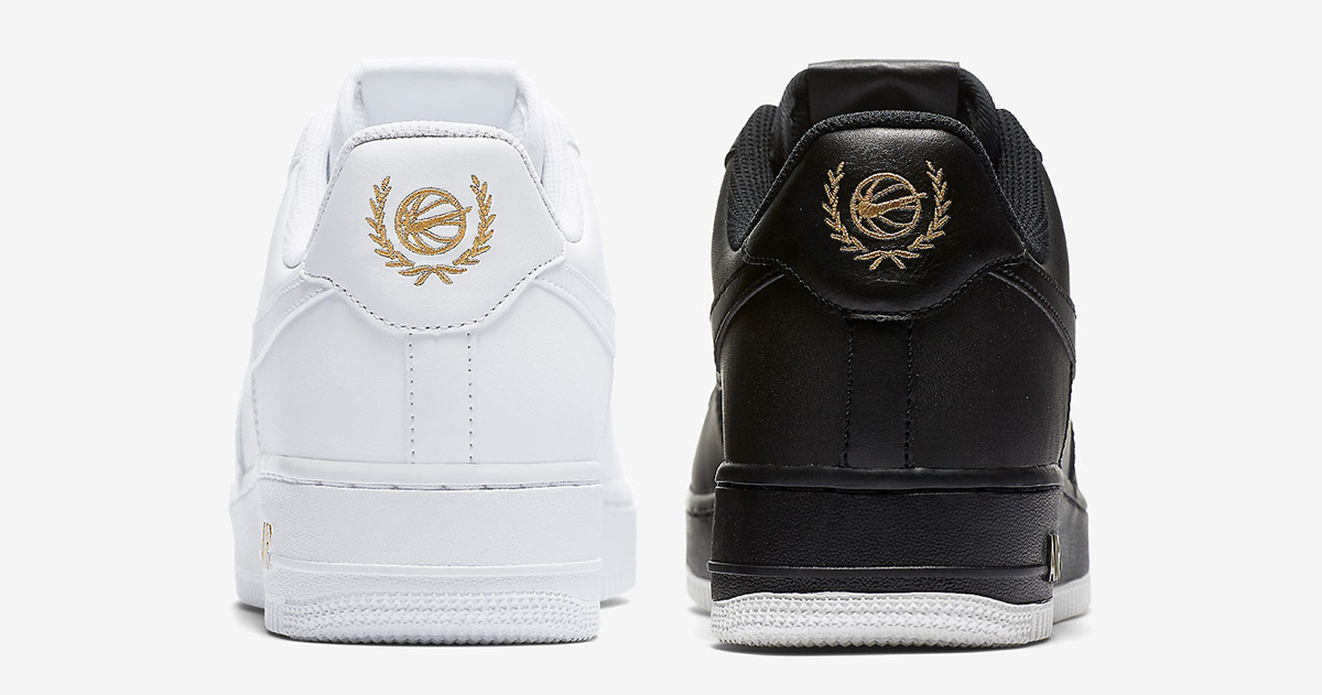 The Air Force 1 honors it's hoopin' roots