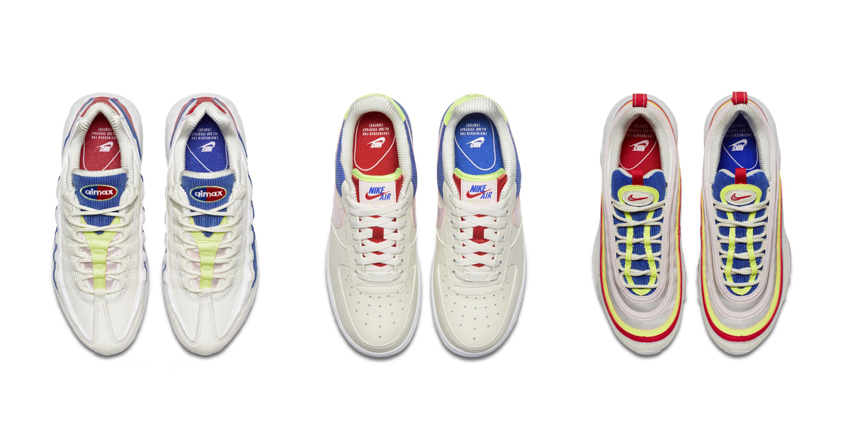 Three of Nike's icons get comfy