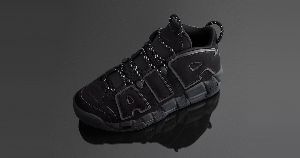 "The Nike More Uptempo ""Triple Black"" has grown up"