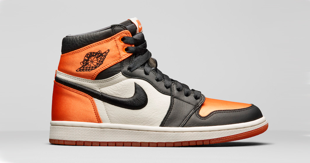 Official images // Air Jordan 1 Satin Shattered Backboard
