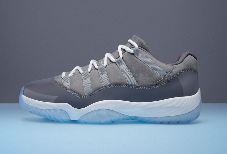 "Official images // Air Jordan 11 Low ""Cool Grey"""