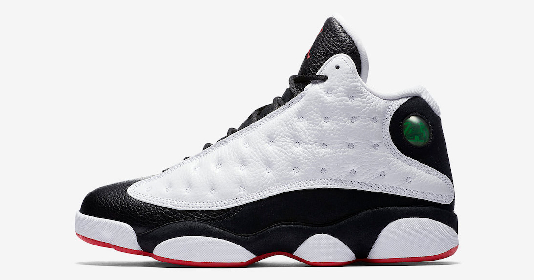 Official images // Air Jordan 13 'He Got Game'