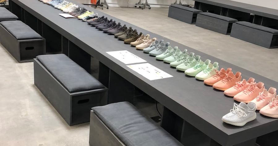 Kanye shares a ton of Yeezy sample colorways