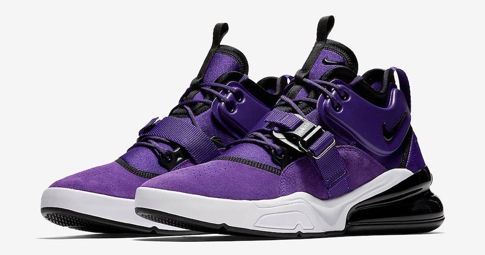 Official images // Nike Air Force 270 'Court Purple'