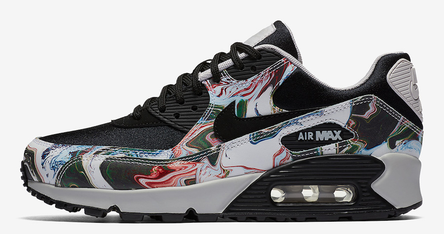 The latest Nike Air Max 90s are Marble-ous