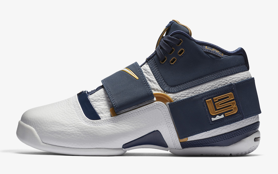 "Official images // Nike Zoom LeBron Soldier 1 ""25 Straight"""