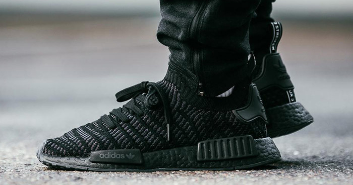 reputable site a224c 647f4 Available now // adidas NMD_R1 STLT 'Core Black' - HOUSE OF ...