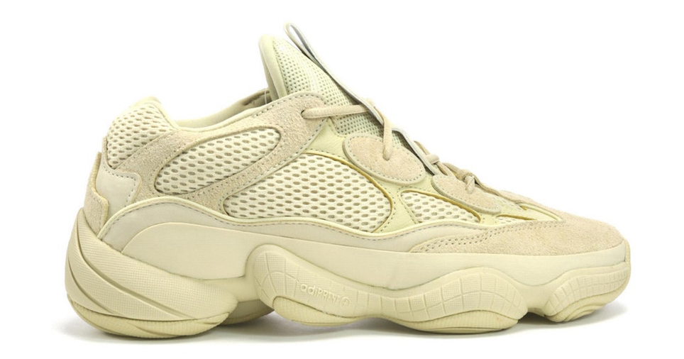 The Yeezy 500 'Super Moon Yellow' is restocking