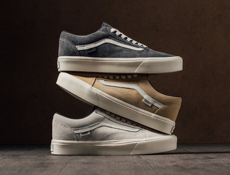 trio of Old Skools are made for Spring