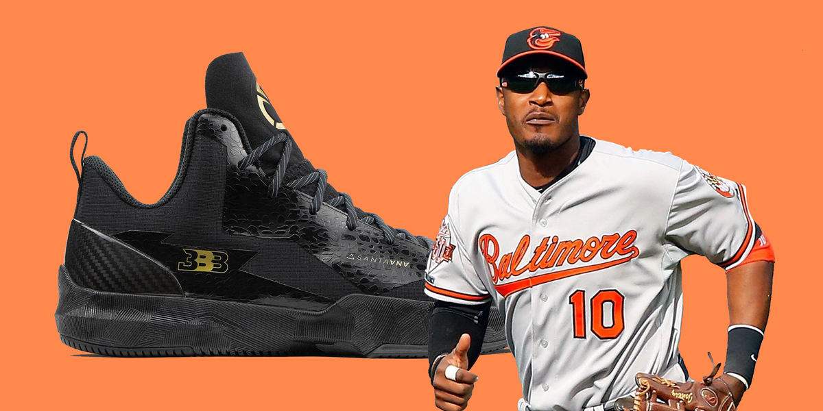 Orioles All-Star Adam Jones waited over 12 months for his pair of BBB ZO2s