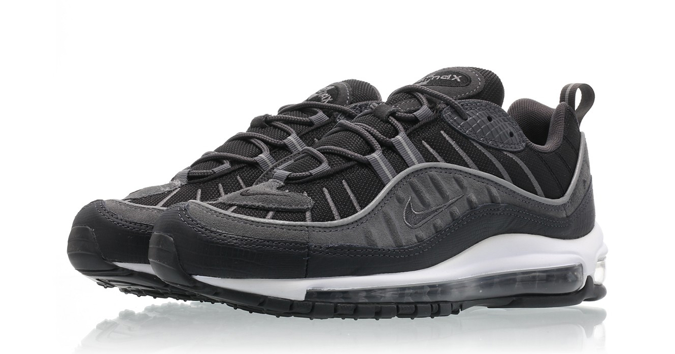 """Available now // Air Max 98 """"Anthracite"""""""