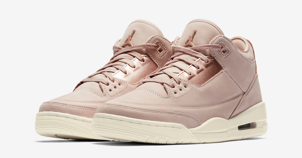 "Official images // Air Jordan 3 ""Particle Beige"""