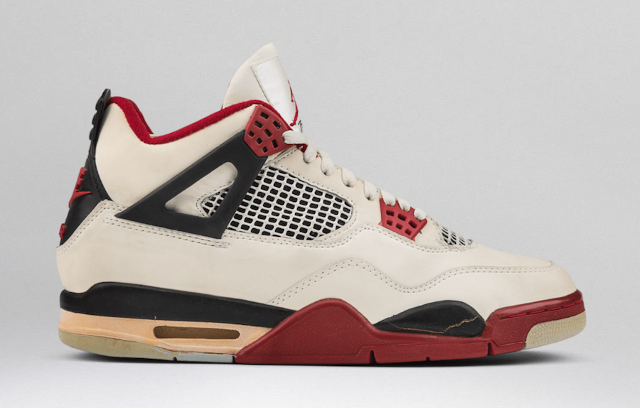 "The OG Air Jordan 4 ""Fire Red"" returns in 2019"