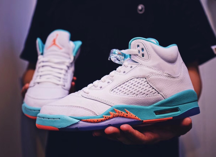 The next Jordan 5 is a perfect fit for the Flint Tropics